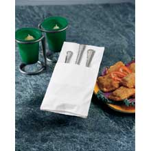 Quickset Two Ply Coin Embossed Dinner Napkin