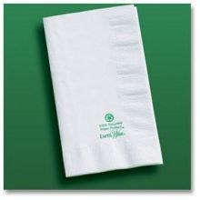 White Earth Wise Recycled Dinner Napkin