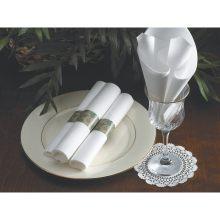 Linen Like Select White Dinner Napkin