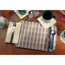 Fashion Casual Broadway Die Cut Printed Placemat