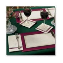 Printed Ensembles Linen Embossed Canterbury Placemat