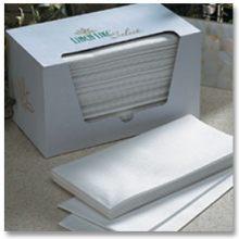 Linen Like Select White Six Fold Guest Towel Napkin