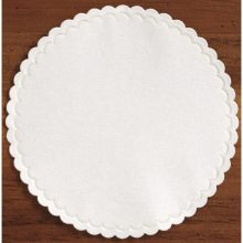 Hoffmaster 305-W Specialty Sanitary White Round Coasters Cellulose 4 inch