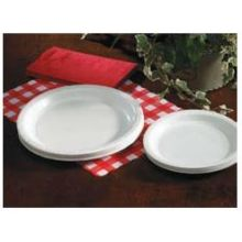 Hoffmaster White Coated Paper Plate