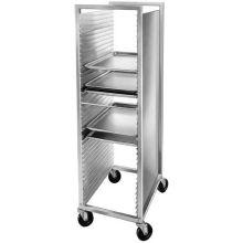 Aluminum Front Load Semi Enclosed Bun Pan Rack