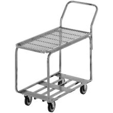 Chrome Galvanized Deck Marking Stocking Truck