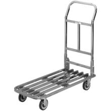 Chrome Tubular Deck Stocking Truck