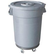 Plastic Grey Trash Can