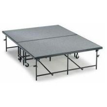 Midwest Carpet Putty Deck Mobile Stage 6 x 8 feet - MSW24CP