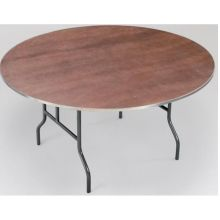 Midwest EP Series Plywood Core Top Round Table 60 Diameter x 30 inch