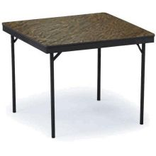 Midwest E Series Black Metal Finish Square Table 36 x 36 x 30 inch