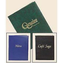 Risch Colored Two View 700 Series Vinyl Menu Cover 5.5 x 8.5 inch