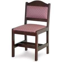 Old Dominion Traditional Oak Walnut Side Chair 34 inch