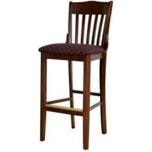 Old Dominion School House Beechwood Walnut Barstool 18 1/2 inch