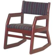Old Dominion Comfort 2-Position Oak Arm Chair