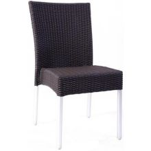 Bella Aluminum Outdoor Stacking Side Chair