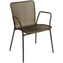 Antique Bronze Khali Outdoor Indoor Stacking Armchair