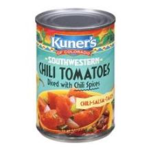 Southwestern Chili Tomatoes Diced with Chili Spices