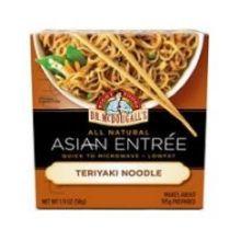 Teriyaki Noodle Asian Entree