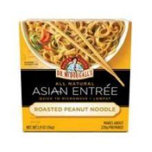 Roasted Peanut Noodle Asian Entree