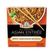 Spicy Szechuan Noodle Asian Entree