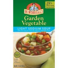 Light Sodium Redy to Serve Garden Vegetable Soup