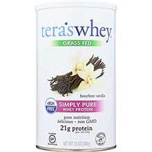 rBGH Free Bourbon Vanilla Whey Protein 12 Ounce