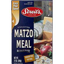 Unsalted Matzo Meal