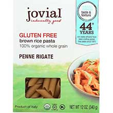 Organic Brown Rice Penne Rigate Pasta