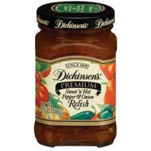 Sweet N Hot Pepper and Onion Relish
