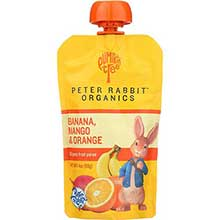 Mango Banana and Orange Fruit Snack