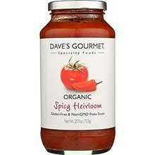 Gourmet Organic Pasta Sauce