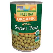 Organic Sweet Peas