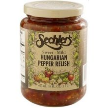 Sweet Mild Hungarian Pepper Relish Pickle