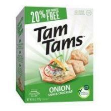 Onion Tam Tams Snack Cracker