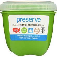 Apple Green Mini Food Storage