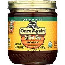 Organic Killer Bee Raw Honey