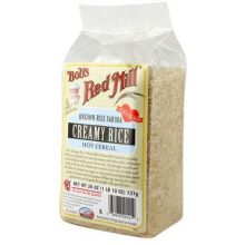 Creamy Brown Rice Farina Hot Cereals