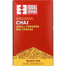 Organic Chai Tea Bags with Spices