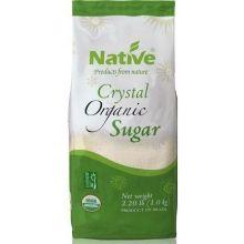 Organic White Crystal Cane Sugar