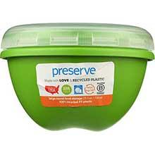 Round Large Green Food Storage