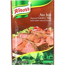 Knorr Gravy Au Jus - 0.6 ounce at FoodServiceDirect! on food service fun, food service support, food service marketing, food service reward, food service service, food service company,