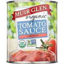 Muir Glen Organic Chunky Tomato Sauce 28 Ounce