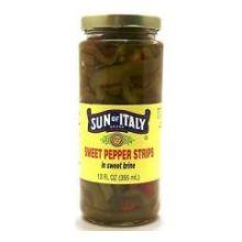 Sweet Pepper Strips