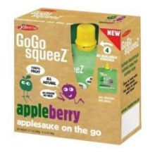 GoGo Appleberry Applesauce