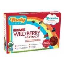 Tasty Brand Organic Wild Berry Fruit Snack