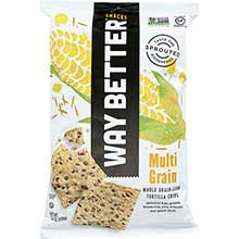 Way Better Snacks Simply Sunny Multi Grain Tortilla Chips