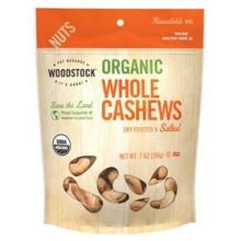 Organic Roasted and Salted Whole Cashew