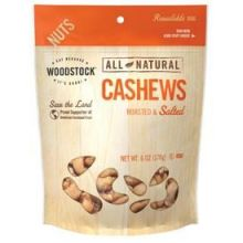 All Natural Roasted and Salted Extra Large Whole Cashews