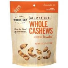 All Natural Roasted and Unsalted Extra Large Whole Cashew